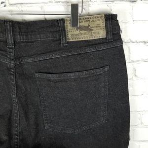 ATLAS FOR MEN   stretch black wash jeans